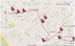 london christmas lights walking tour wanderer