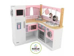 set cuisine enfant kidkraft 53185 coin cuisine de gastronome dimension cm 85