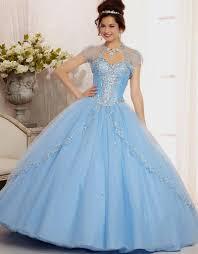 quinceanera dresses baby blue