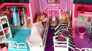 Best 25 Barbie House Tour by Barbie House Morning Routine Princess Bedroom Frozen Queen Elsa