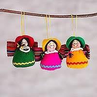 peruvian ornaments novica