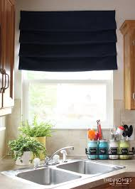 Make Roman Shades From Blinds How To Make No Sew Hardware Free Roman Shades