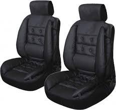 siege confort voiture paire de couvre siege auto intégrale haute qualité rembourré
