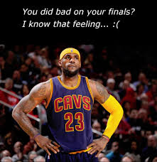Lebron Finals Meme - lebron james knows the feeling of doing bad on finals memes