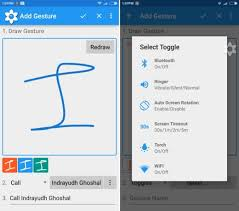 android gestures clearview gestures for android launches apps with a swipe