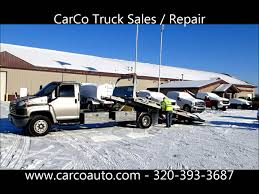 used ford tow trucks for sale chevrolet c5500 diesel with jerr dan rollback flatbed tow truck