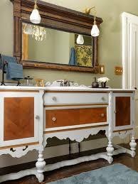 Repurposed Bathroom Vanity by Furniture Diy Dresser Ideas Vintage Vanity Dresser Repurpose