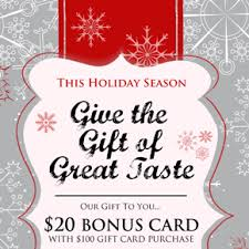 gift card specials phillips seafood promotions features gift cards
