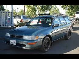 1995 toyota corolla station wagon 1995 toyota corolla dx wagon for sale in san jose ca