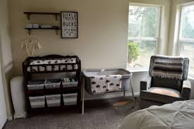 create the perfect nursery changing station in a small space xo