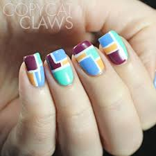2 colour nail art gallery nail art designs