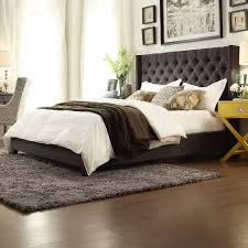 501 31 kingstown home declare tufted wingback bed dealepic