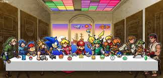 Last Supper Meme - videogame photo of the day the last supper jesus game mascots