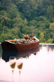 144 best destination ubud images on pinterest ubud bali floating dinner for two at ubud hanging gardens