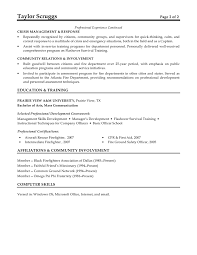 how to write continuing education on resume professional affiliations resume sample resume examples cna resume examples terrific 10 free firefighter resume templates
