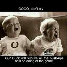 Oregon Ducks Meme - oregon ducks civil war goo ducks pinterest