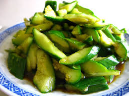 Chinese Main Dish Recipe - chinese cucumber salad 拍黃瓜 chinese recipes at
