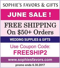 wedding supplies gifts free shipping on 50 orders