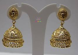 gold jhumka earrings design gold jhumka earrings designs images archives jewellery