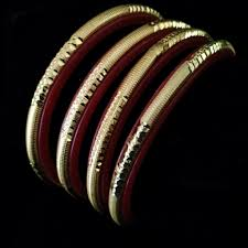 shakha pola bangles designer bangle sankha pola bengali design with fibre and gold