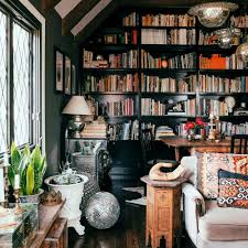 decorating a bookshelf great shelf ideas sunset