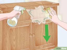 what to use to clean oak cabinets how to clean oak cabinets with pictures wikihow