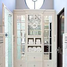 dark gray linen closet door design ideas