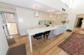 kitchen decoration minimalist white plywood kitchen cabinetry