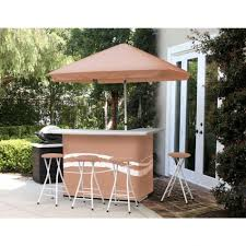 Bar Set For Home by 100 All Weather Patio Amazon Com Spring Haven Brown All