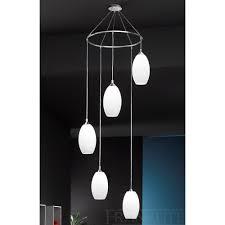 modern pendants fl2199 5 ceiling 5 chrome drop lights