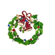 christmas accessories accessories festive christmas wreath bells