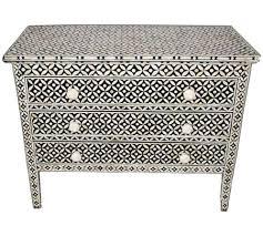 Bone Inlay Chair Silver Handicraft India Handmade Bone Inlay Furniture Mop