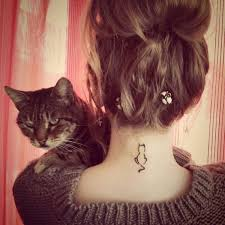 89 best cat tattoo images on pinterest black cat tattoos black