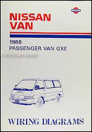 1988 nissan wiring diagram manual original