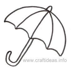 free printable crafts ideas patterns print umbrella