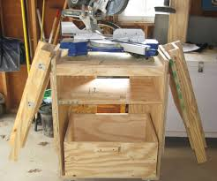 Table Saw Cabinet Plans Miter Saw Station 7 Steps With Pictures