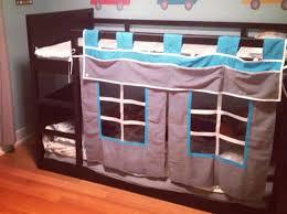 chambre fille lit superposé etsy rideaux lit superpose enfant chambre enfant