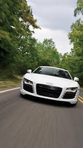 white audi r8 wallpaper wallpaper for android cars