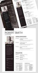 Designer Resume Templates Free Resume Template And Cover Letter Free Psd Files Pinterest