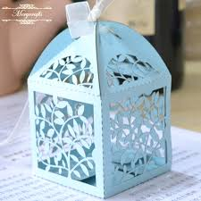 individual ornament gift boxes individual gift boxes party supplies laser cut wedding candy