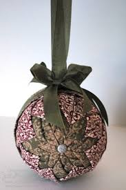 fabric covered ornaments fabric covered ornament how to