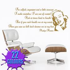 i m selfish wall decal sticker quote lounge living room bedroom gold i m selfish wall decal beside a swivel chair