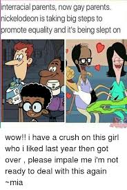 Nickelodeon Memes - interracial parents now gay parents nickelodeon is taking big