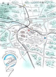 Map Of Ann Arbor Ann Arbor U0027s Fading Dream Of Trains And Rail Systems Local In Ann