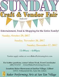 San Tan Mall Map Sunday Craft And Vendor Fair Application Registration Sun Oct 29