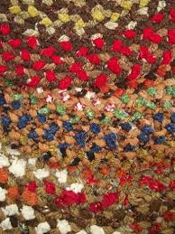 Chenille Braided Rug Braided Rug Lot New Old Stock Chenille Rugs W Spartan Labels