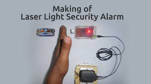 how to make a laser light security alarm youtube