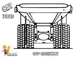 dirty dump truck coloring pages dump trucks free