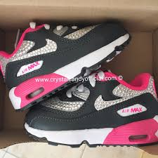 light pink nike air max kids crystal nike air max 90 s crystal candy limited