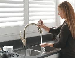 touch free kitchen faucets furniture the best of fancy free kitchen faucet at endearing